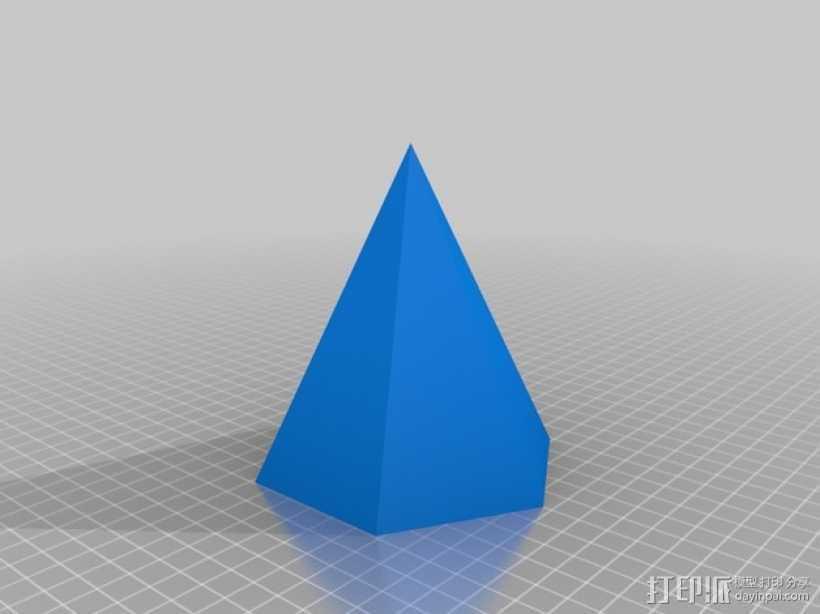 钻石头环 3D打印模型渲染图