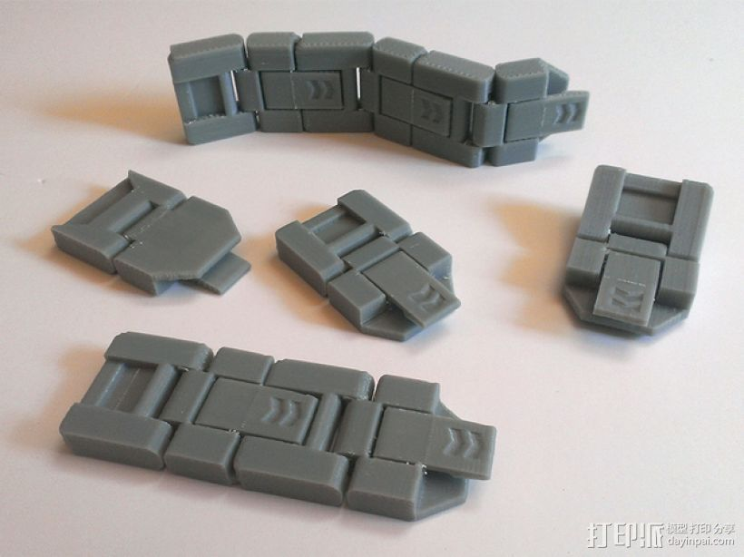 JC 铰链扣 3D打印模型渲染图