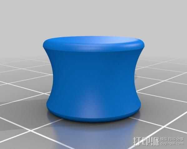 耳塞 3D打印模型渲染图