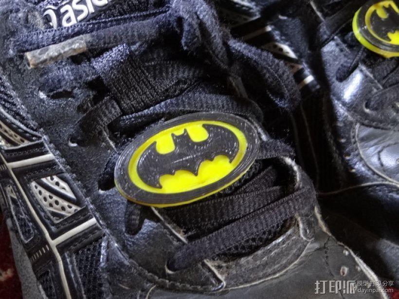 鞋带徽章 3D打印模型渲染图