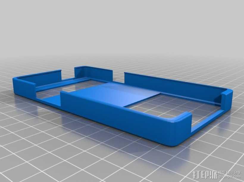 盖世2手机壳 3D打印模型渲染图