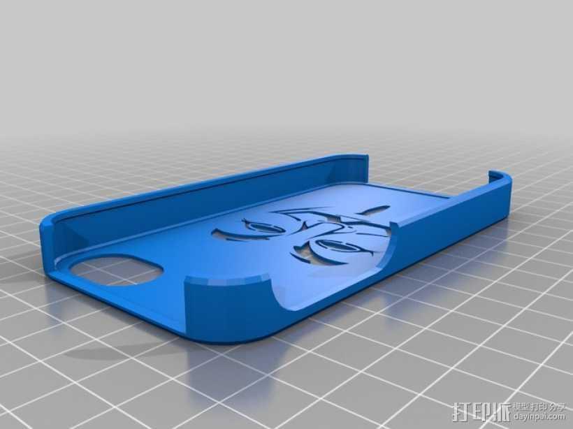 无名氏iPhone 外壳 3D打印模型渲染图