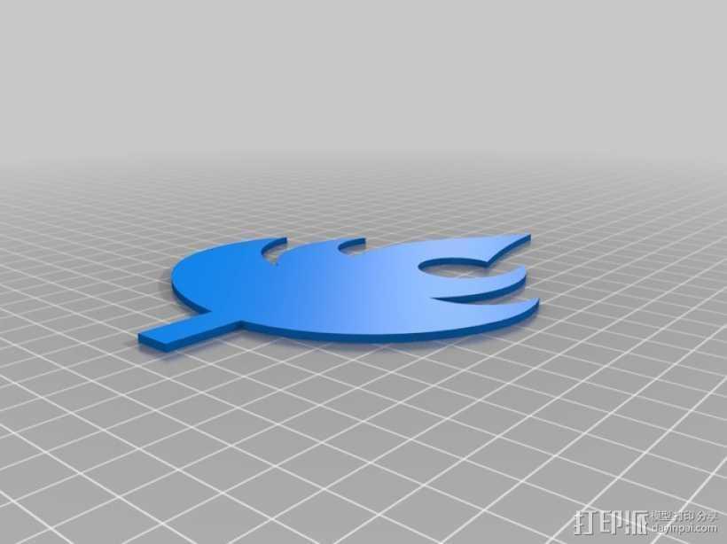 圣火之冠 3D打印模型渲染图