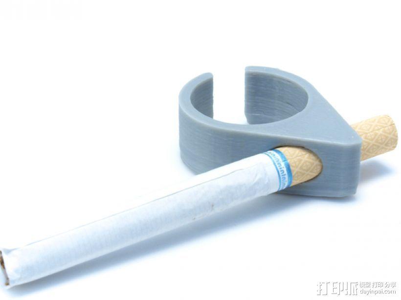 香烟手套夹 3D打印模型渲染图