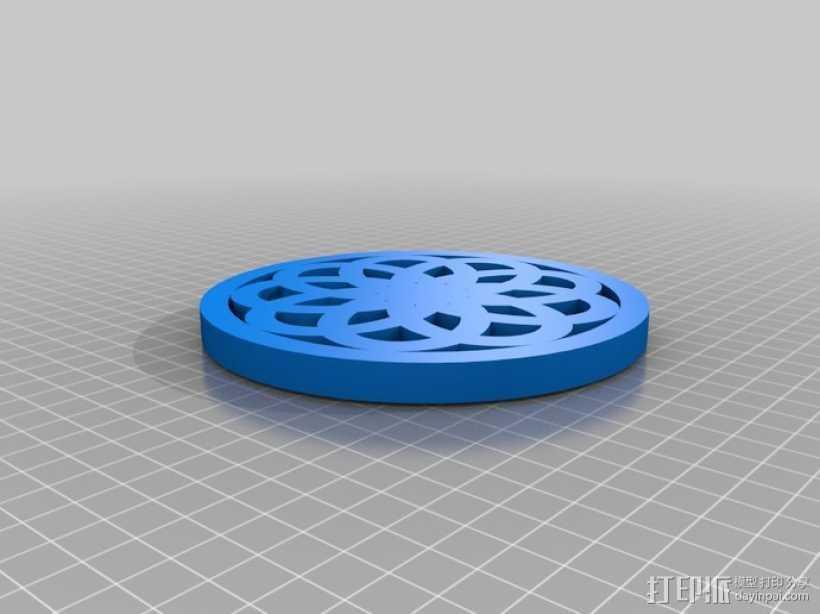 荣耀圈 3D打印模型渲染图