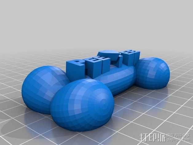 PeePee颈骨 3D打印模型渲染图