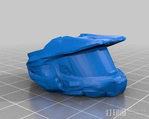 荣光戒指 3D打印模型渲染图