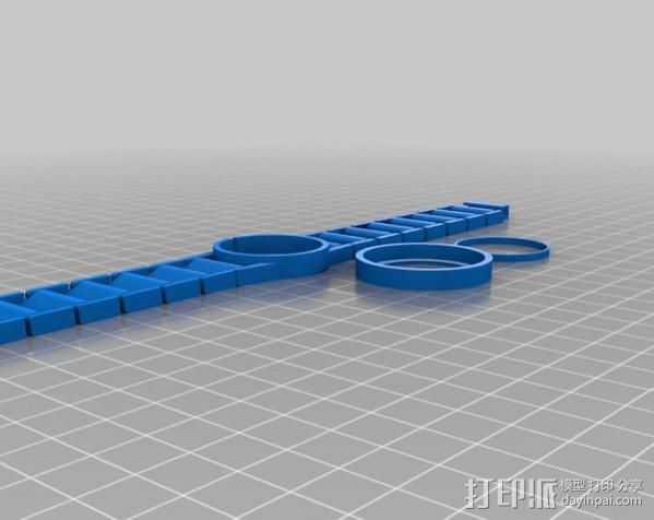 我的金表 3D打印模型渲染图