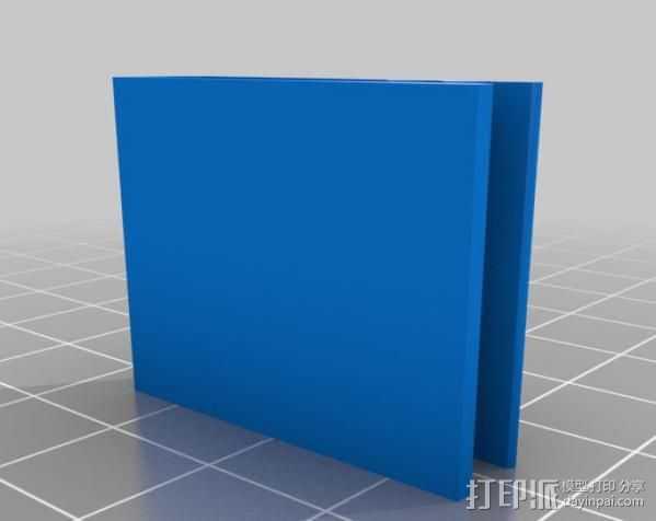 腰带夹 3D打印模型渲染图