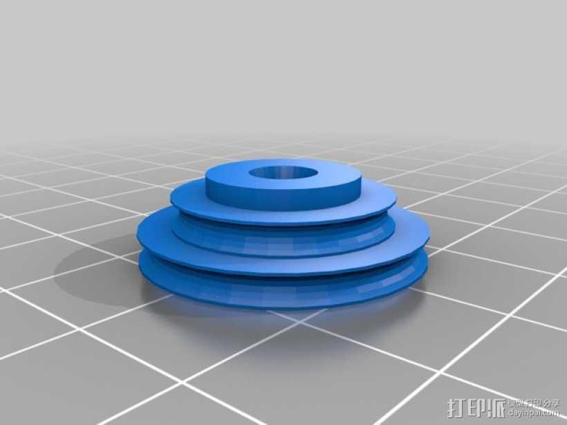 星球大战中的Greeblie帝国 3D打印模型渲染图