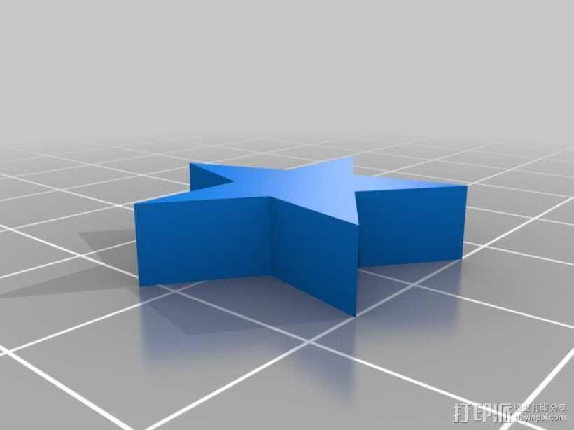 星珠 3D打印模型渲染图