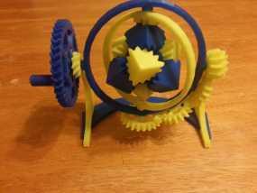 神奇的陀螺魔方齿轮