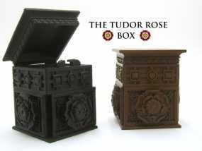 玫瑰花饰方盒