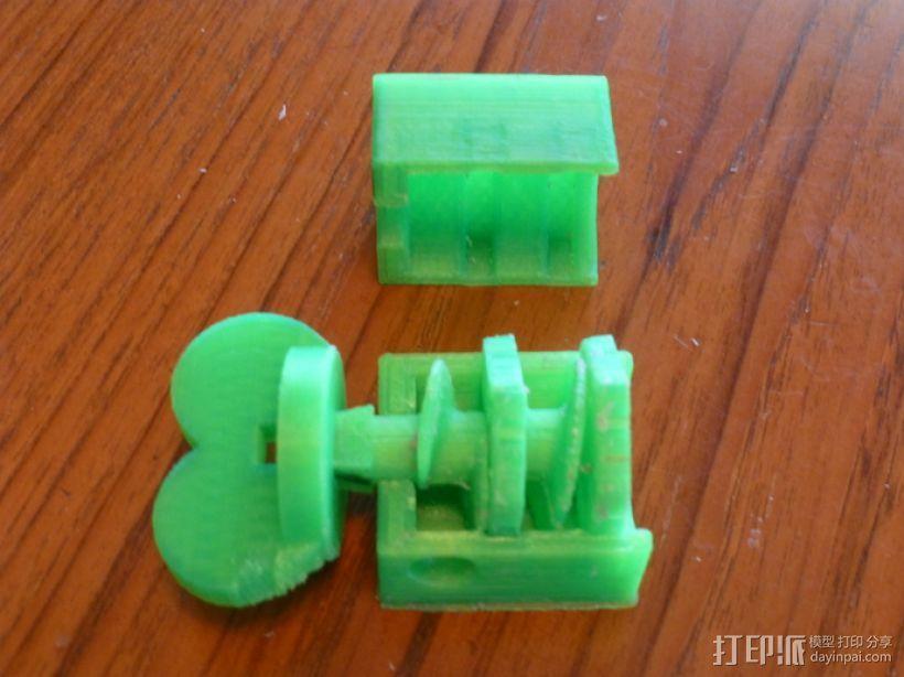 搅拌器 3D打印模型渲染图