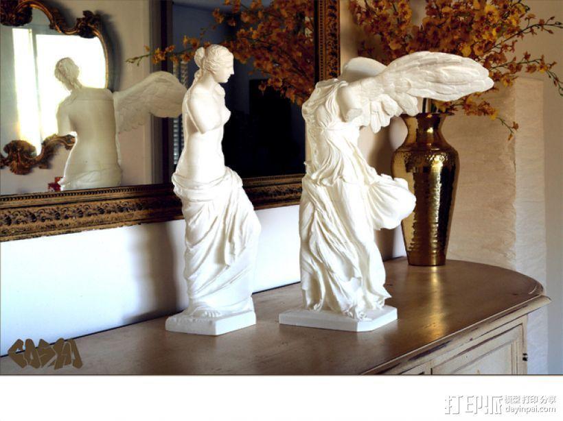 古希腊神话人物雕像 3D打印模型渲染图