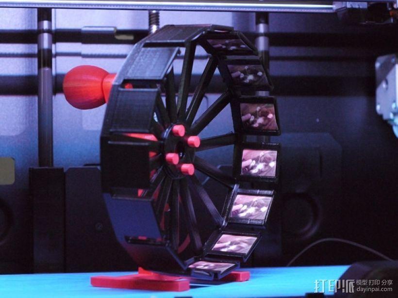 幻灯箱 3D打印模型渲染图