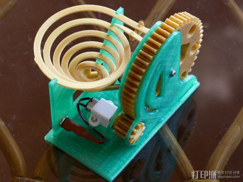 电动大理石机 3D打印模型渲染图