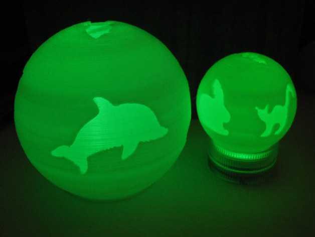 灯饰 3D打印模型渲染图