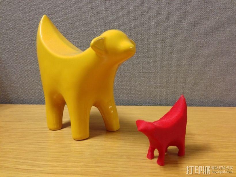 Superlambanana小羊 3D打印模型渲染图