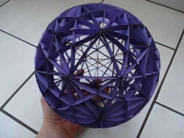大圆球 (由31个圆环组成) 3D打印模型渲染图