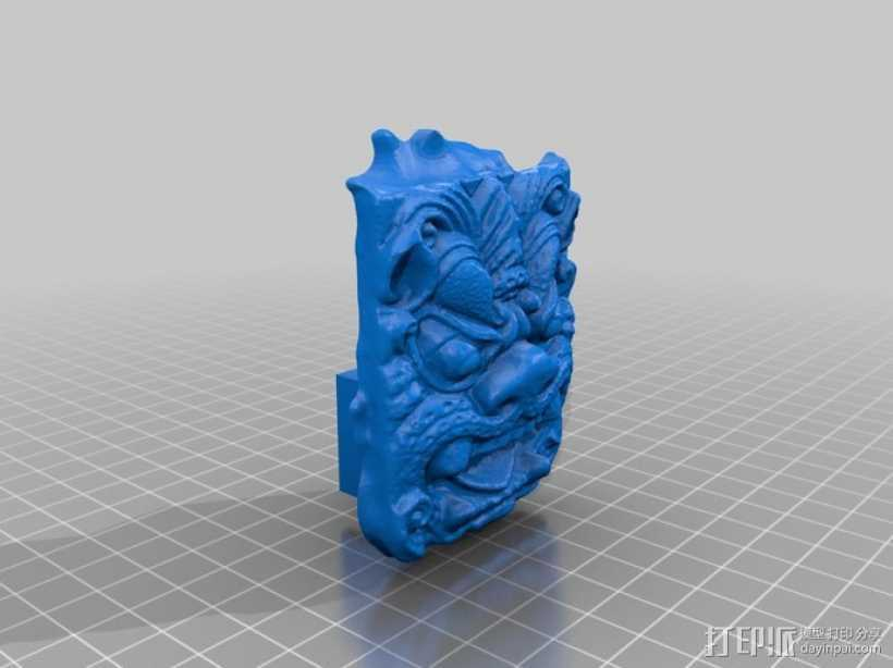 食人怪 Ogre 雕像模型 3D打印模型渲染图