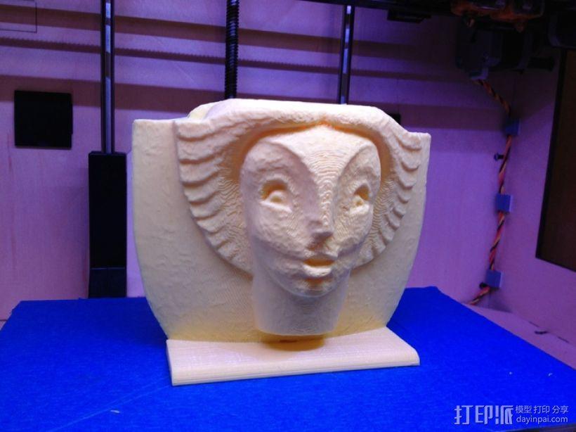 亨利·鲍恩安东尼 喷泉 模型 3D打印模型渲染图
