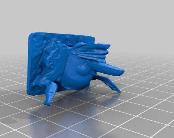 婆罗洲 面具 3D打印模型渲染图