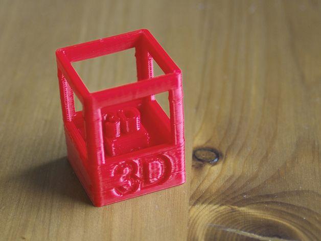 3D打印技能徽章 3D打印模型渲染图