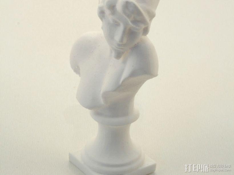 萨福头像 3D打印模型渲染图