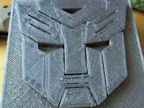 变形金刚徽章