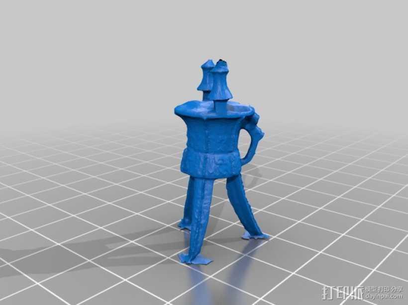 宴会酒杯 3D打印模型渲染图