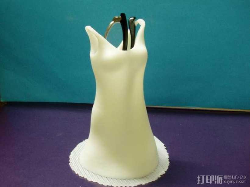 迷你连衣裙 3D打印模型渲染图