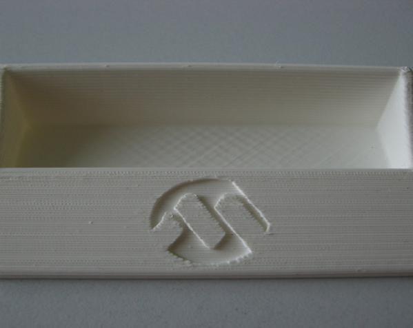 名片盒  3D打印模型渲染图