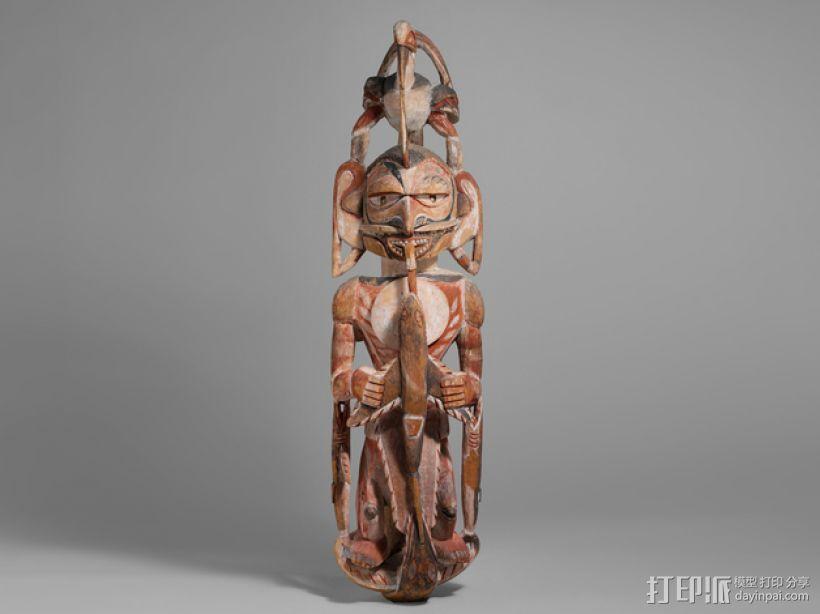 墓室雕像 3D打印模型渲染图