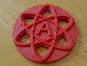 原子结构图装饰品
