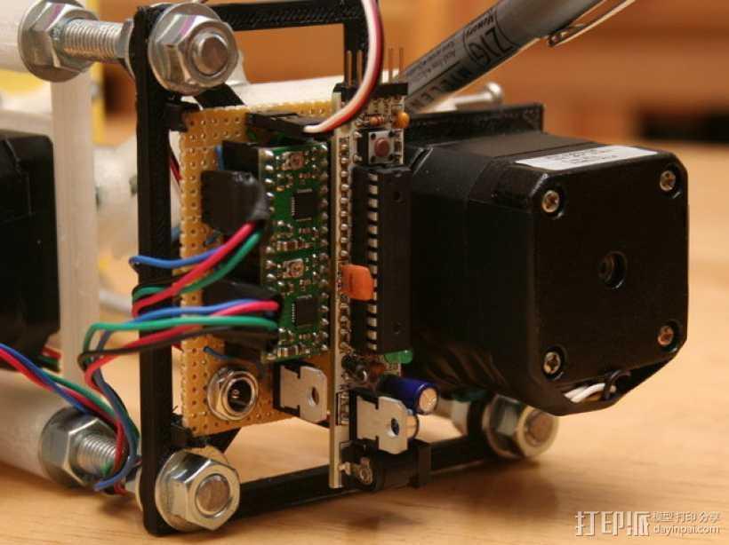 Eggbot/Spherebot底板 3D打印模型渲染图