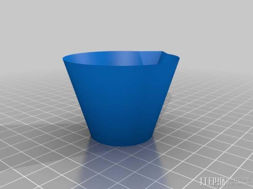 石膏搅拌 碗 3D打印模型渲染图
