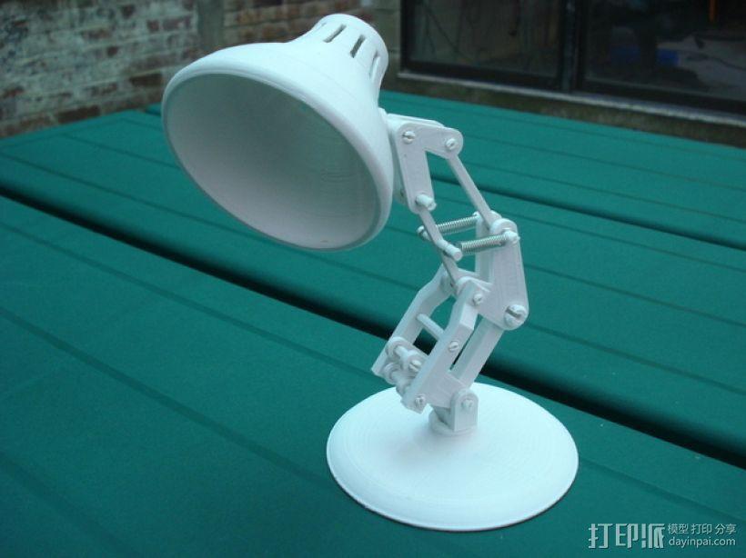 迷你台灯 3D打印模型渲染图
