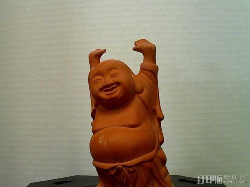佛像 雕塑 3D打印模型渲染图