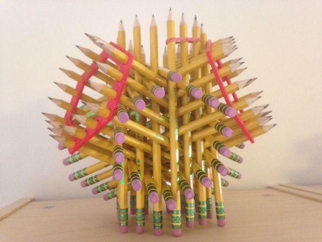 铅笔架 3D打印模型渲染图