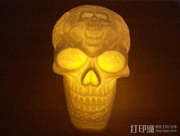 凯尔特头骨 模型 3D打印模型渲染图