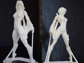Akiko吉田亚纪子 人物模型