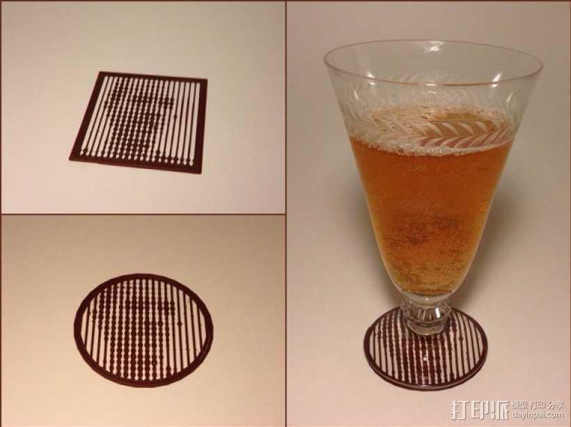 花纹漏字板 3D打印模型渲染图