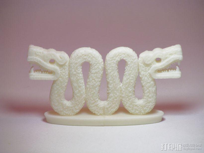 双头蛇 3D打印模型渲染图