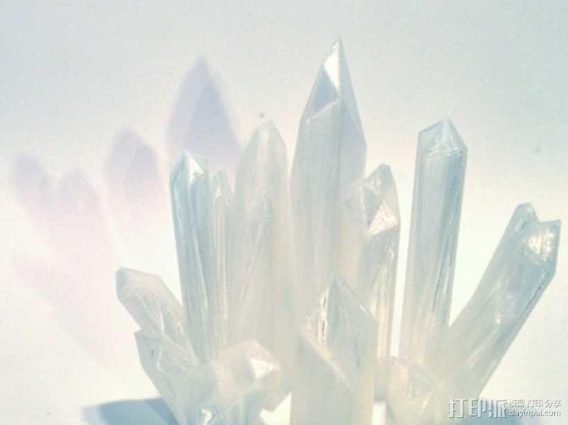 水晶 模型 3D打印模型渲染图
