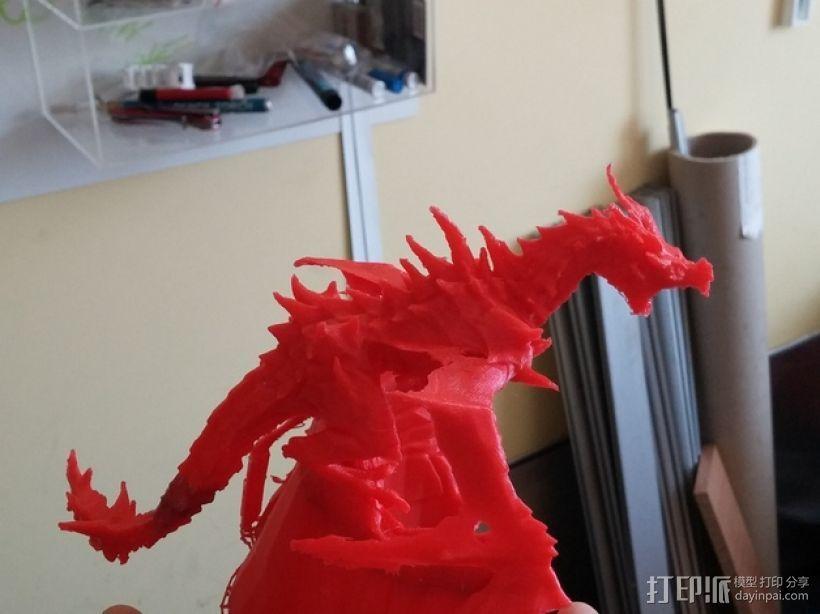 Alduin龙 模型 3D打印模型渲染图