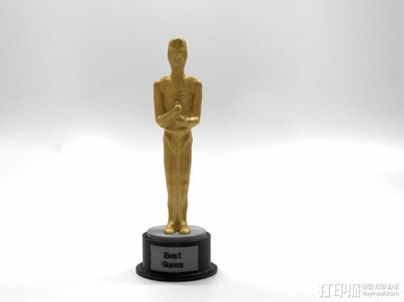 电影奖杯 模型 3D打印模型渲染图