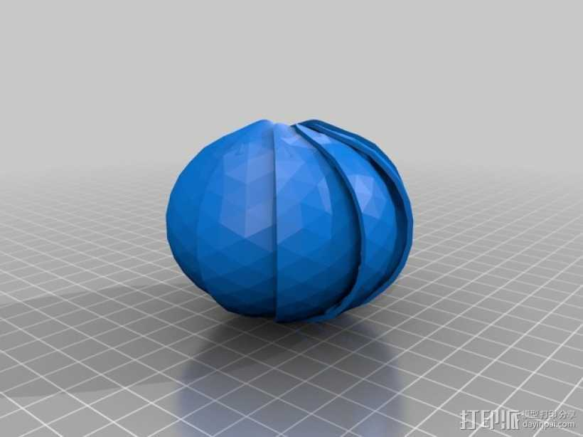 球潮虫 模型 3D打印模型渲染图