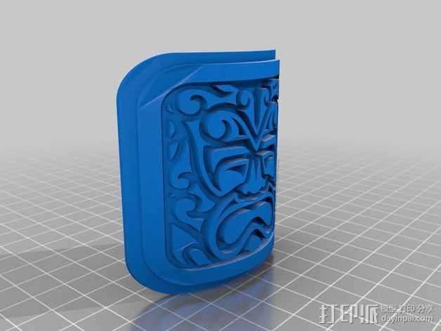 探寻阿兹特克人 3D打印模型渲染图