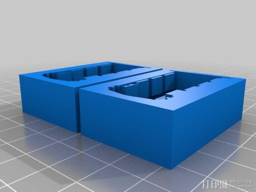 Dr. Who 中的Tardis飞船模型 3D打印模型渲染图